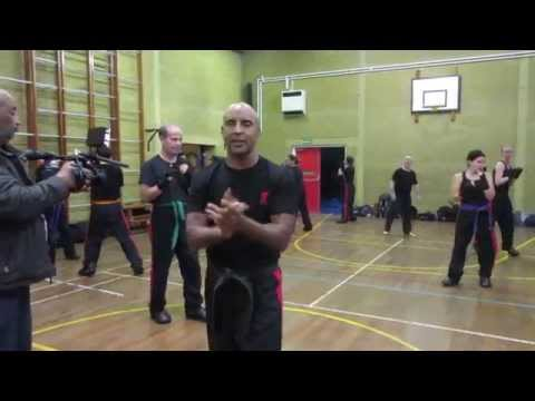 Kevin Brewerton Masterclass at KB Kickboxing 2015