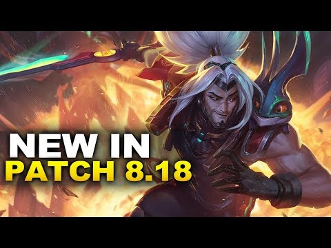 New Changes in Patch 8.18 & Odyssey! (League of Legends) thumbnail