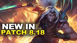 New Changes in Patch 8.18 & Odyssey! (League of Legends)