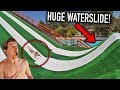 INSANE 100ft MEGA RAMP WATERSLIDE! *MEXICO*