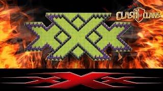 Triple XXX Farming FARMING/ Clash of Clans/ TH8 Farming and Defense Strategy/ New UPDATE 2016