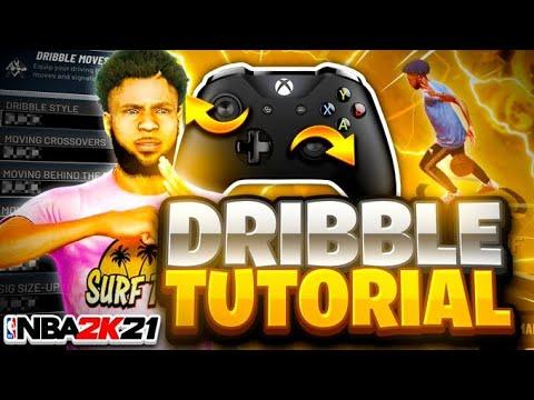 BEST DRIBBLE TUTORIAL FOR BEGINNERS IN NBA 2K21 + HANDCAM! BEST DRIBBLE MOVES NBA IN 2K21 - TUTORIAL