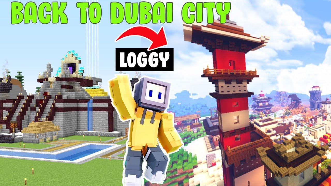 BACK TO DUBAI CITY    @Chapati Hindustani Gamer @Hindustan Gamer Loggy
