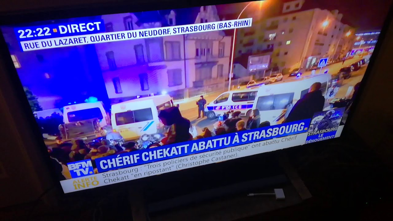 Assaillant de Strasbourg tué : quand BFM TV diffuse