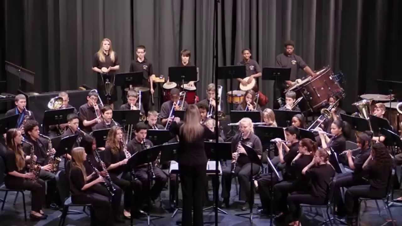 Overhills MS 20th & 20th Grade Band   Serengeti Dreams   Robert W. Smith