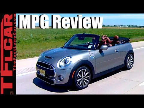 2016 Mini Coopers S Convertible Top Up Vs Down Mpg Review What More Fuel Efficient