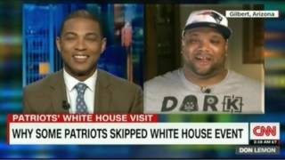 Alan Branch skipped the NE Pratriots White House Event and refused to shake Trump