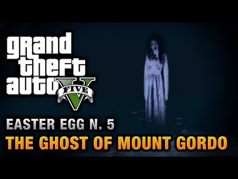 GTA 5 - Easter Egg #5 - The Ghost of Mount Gordo