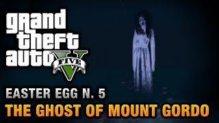 GTA 5 - Easter Egg #5 - The Ghost of Mount Gordo