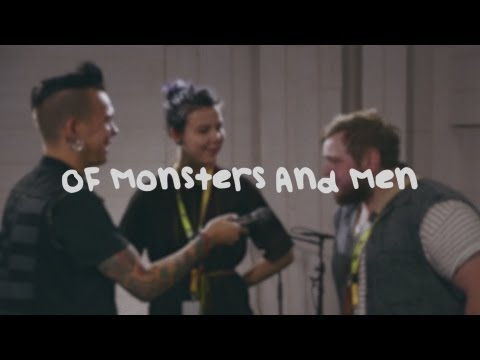 Of Monsters and Men - interview at Nova Stage, Radio Nova Finland
