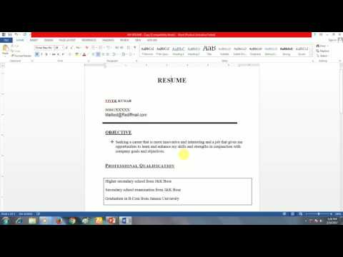 Declaration In Resume Tips And Samples Admitkard Blog