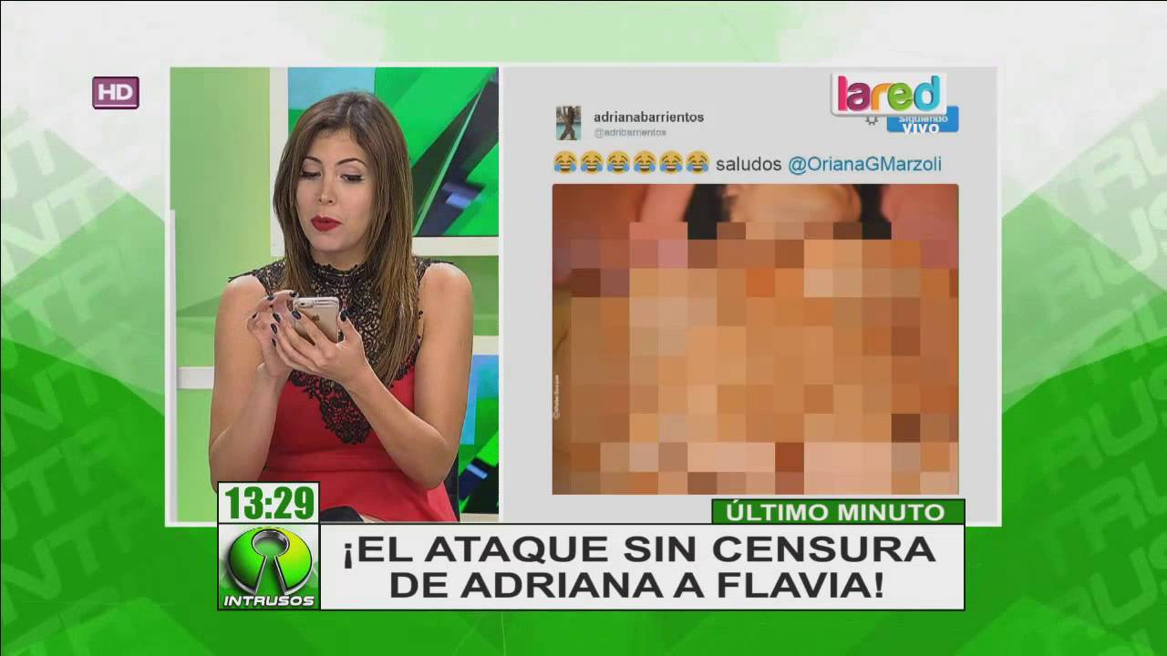 Sin Censura Adriana Barrientos Viralizó Imagen Desnuda De Chica