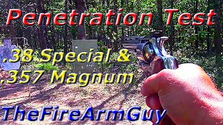 .38 Special & .357 Magnum vs Heavy Steel Door - TheFireArmGuy
