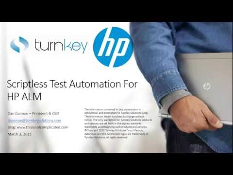 Transforming Test Automation Scriptless Testing Comes of Age