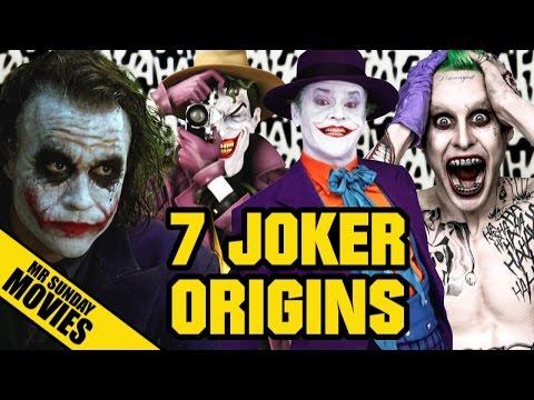 7 Crazy JOKER Origin Stories