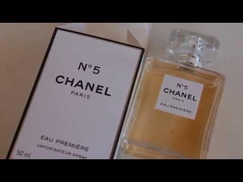 Chanel No 5 Eau Premiere Unboxing 2015 Youtube