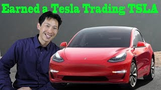 How I Earned a Tesla Trading Tesla Stock
