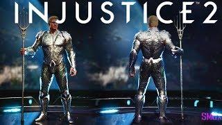 Aquaman Justice League Gear Showcase!!! | INJUSTICE 2
