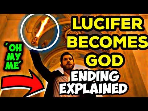 Download | Lucifer Becomes God | Lucifer Season 5 Part 2 Ending Explained In Hindi | Tom Ellis| Breakdown