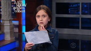 This Little Girl Has Her Own Letter For The President