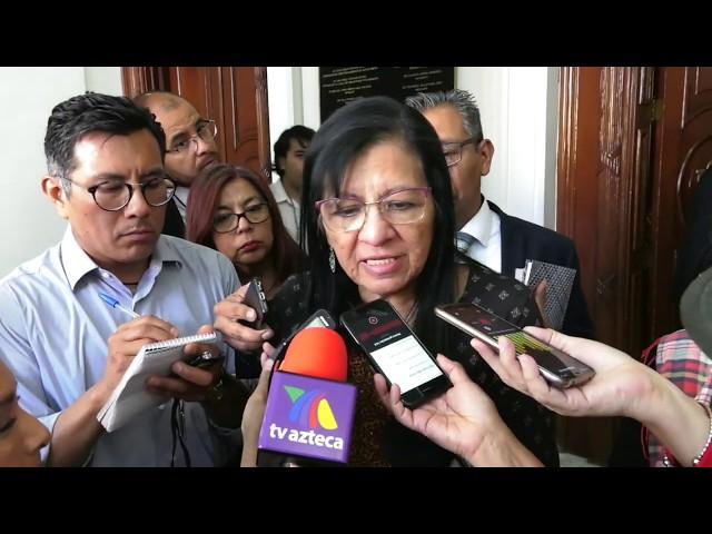 Entrevista a Presidenta de #CDHCM tras Sesión Solemne Medalla de defensores a víctimas