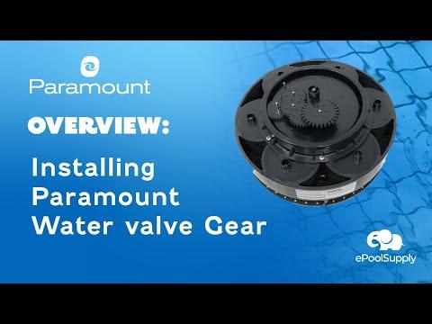 Paramount Water Valve Gear Module Installation