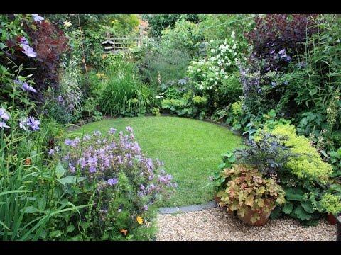 Мой прекрасный сад. Маленький сад. Пример удачного проектирования. Small garden.