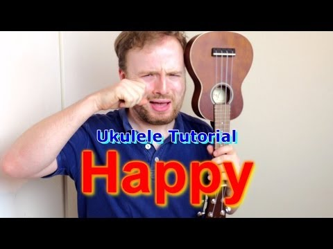 Happy - Pharrell Williams (Ukulele Tutorial)