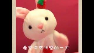[兔寶愛唱歌]晚安曲Bunny loves singing