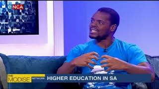 #TheModiseNetwork: State of Higher Education in SA – Part 2