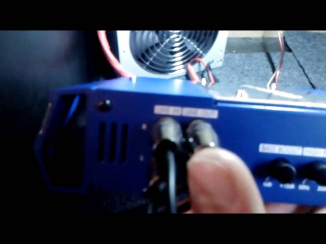 усилитель Blaupunkt GTA-270 +
