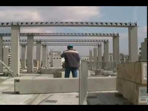 Deltabeam With Precast Concrete Structure Youtube
