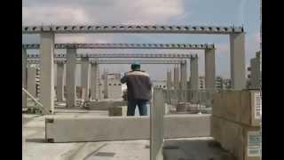 Deltabeam with Precast Concrete Structure