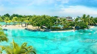 Plantation Bay Resort and Spa.  Отдых на Филиппинах, остров Себу(Онлайн путешествие по Филиппинам. Волшебный отель. Здания отеля в колониальном стиле окружены тропическим..., 2015-05-19T14:59:06.000Z)