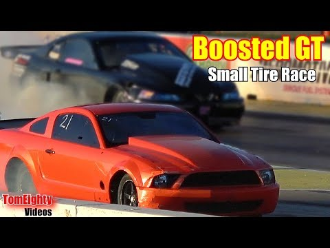 Street Outlaws Boosted GT Small Tire Race Topeka Kansas 2018