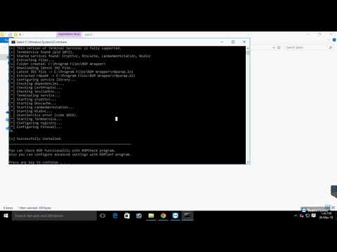 rdp wrapper windows 10 - YouTube