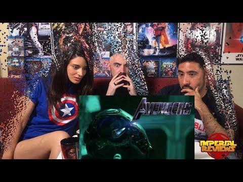 AVENGERS ENDGAME - Avengers 4 - Official Trailer REACCION!!!