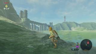 Breath of the Wild. Trying to leave the plateau without the paraglider