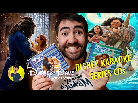 BEAUTY AND THE BEAST / MOANA: DISNEY KARAOKE SERIES Review and Unboxing
