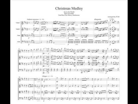 Christmas Carol(Medley), for string quartet, CH915