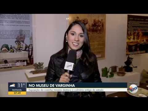 Exposição e livro Culinária Mineira - EPTV