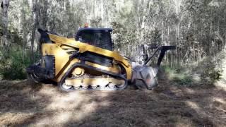 Track-loader-mulcher