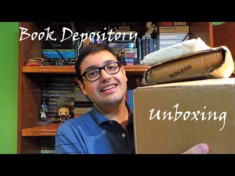 BOOK DEPOSITORY UNBOXING!