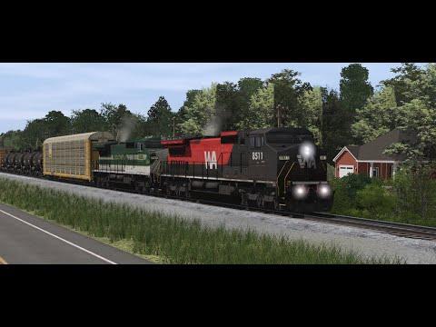 Trainz Railroad simulator 2019 Railfanning compilation 13 |