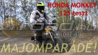 Honda Monkey 125 (2018) teszt 4K - Onroad.hu