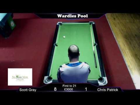 Wardles Pool; Scott Gray v Chris Patrick