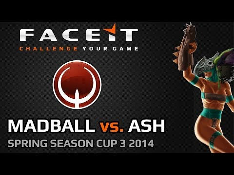 FACEIT QL SSC3 2014 SEMI FINAL | (Madball vs. Ash)