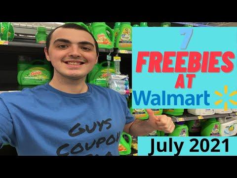 7 FREEBIES AT WALMART! ~ JULY 2021