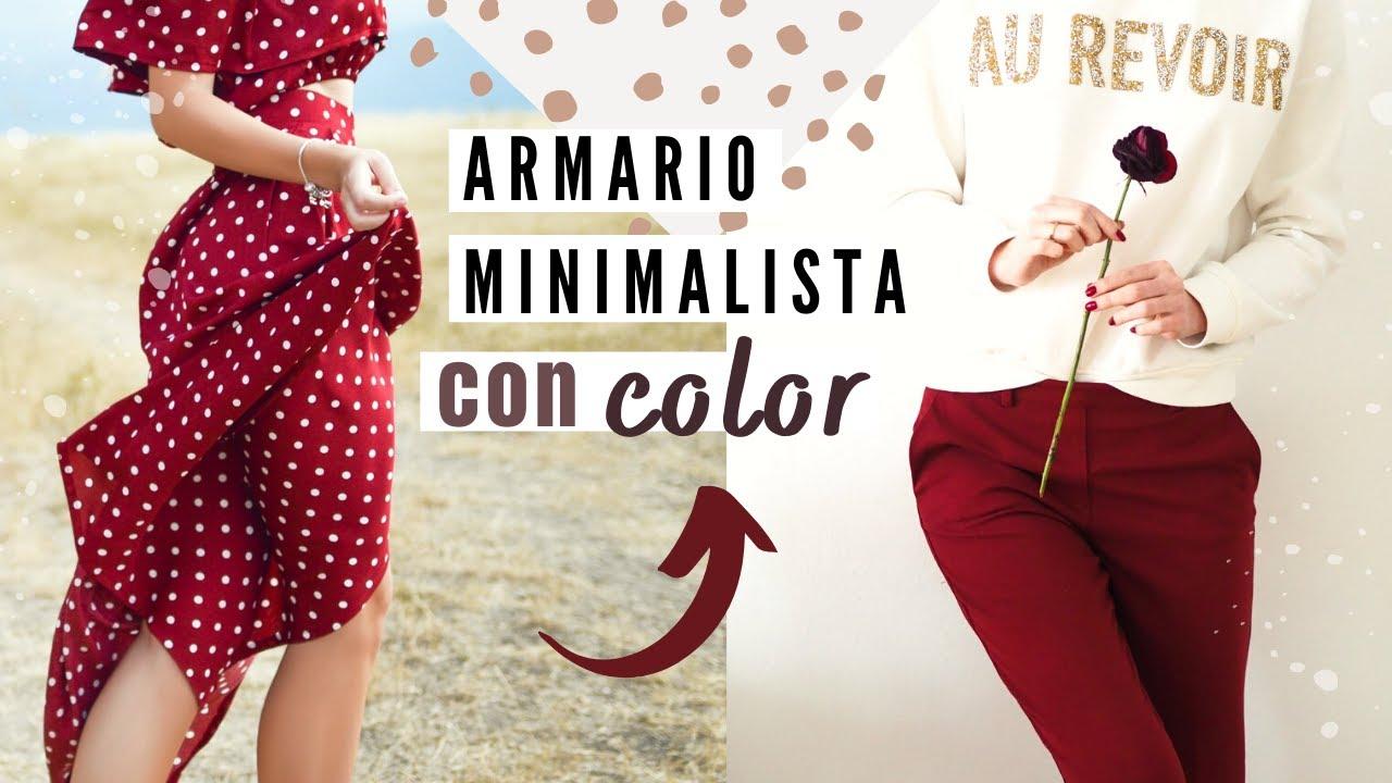 Cómo añadir MÁS COLOR a tu ARMARIO CÁPSULA 👗✨ Diviértete con tu estilo!