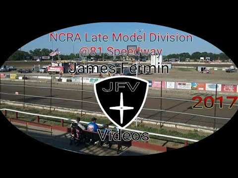 NCRA Late Models #23, Heat, 81 Speedway, 2017